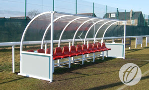 Premier Curved 12 Person Team Shelter