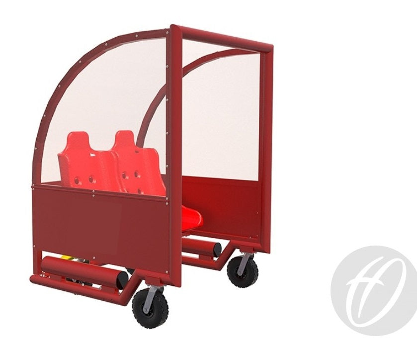 Shelter Portable Wheelaway - 2, 4, 7, or 10 Seats