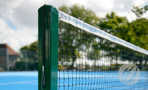 "Tennis Posts 76mm (3"") Square Steel Harrod S8"
