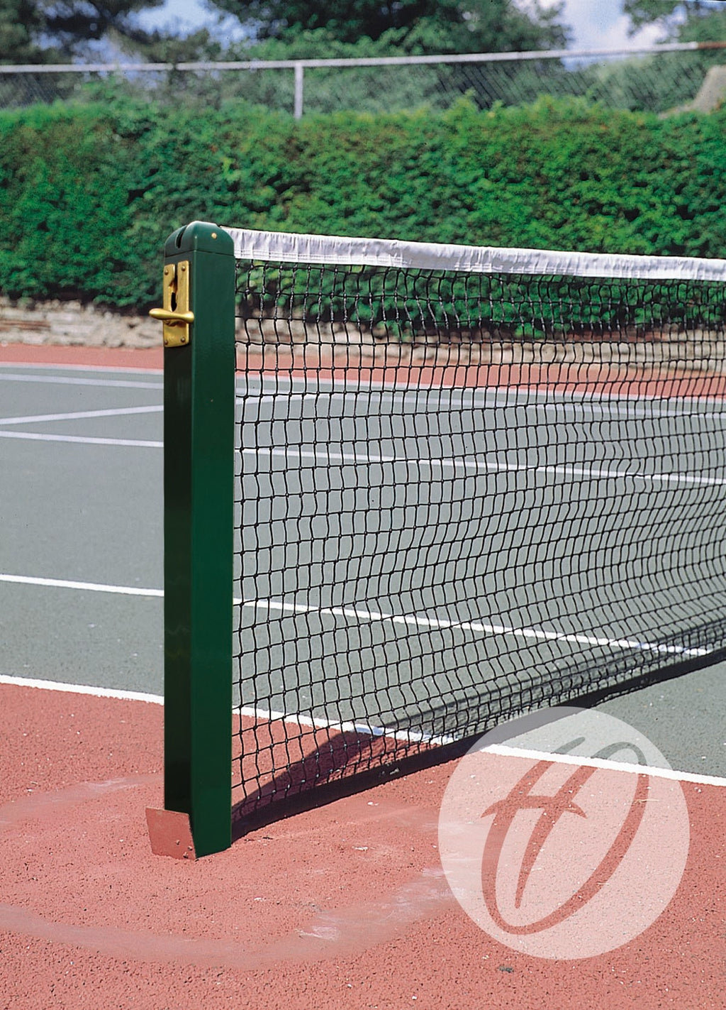 Square Aluminium Tennis Posts and Sockets