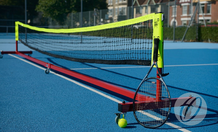 Mini Tennis Posts - Wheelaway
