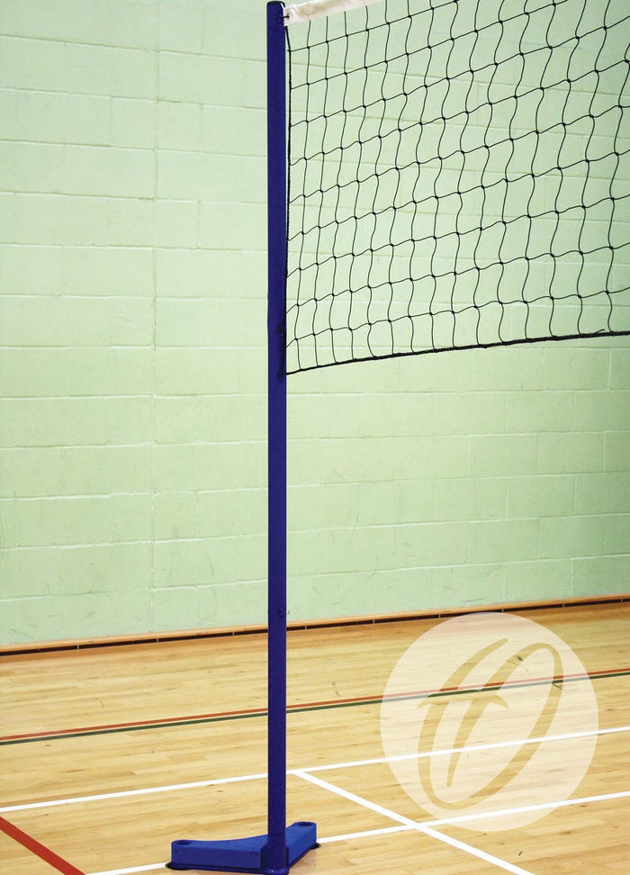 Combination - Floor Fixed Club Volleyball & Badminton Posts