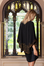 Load image into Gallery viewer, Cropped Beaded Kimono