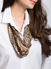 Load image into Gallery viewer, Art Deco Scarf Necklace