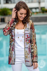 Harvest Embroidered Coverup