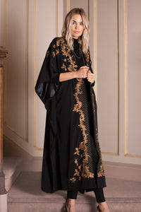 Embroidered Caftan Jacket