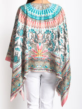 Load image into Gallery viewer, Dreamcatcher Print Beaded Coverup