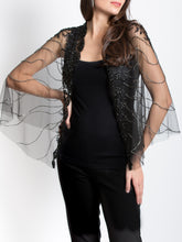 Load image into Gallery viewer, Crystal Beaded Capelet