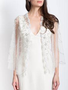 Crystal Beaded Capelet