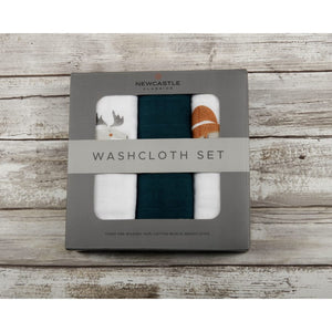 washcloth set  |  forest friends