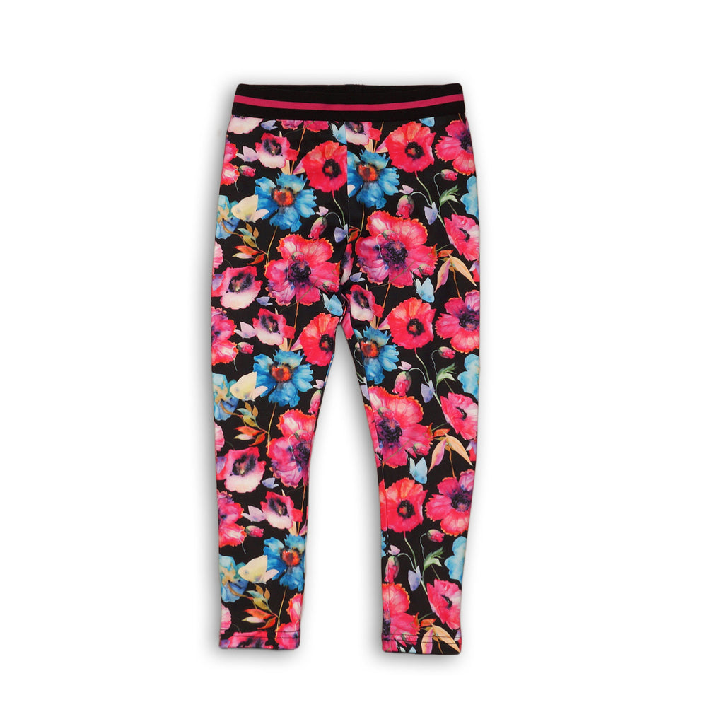active leggings  |  floral