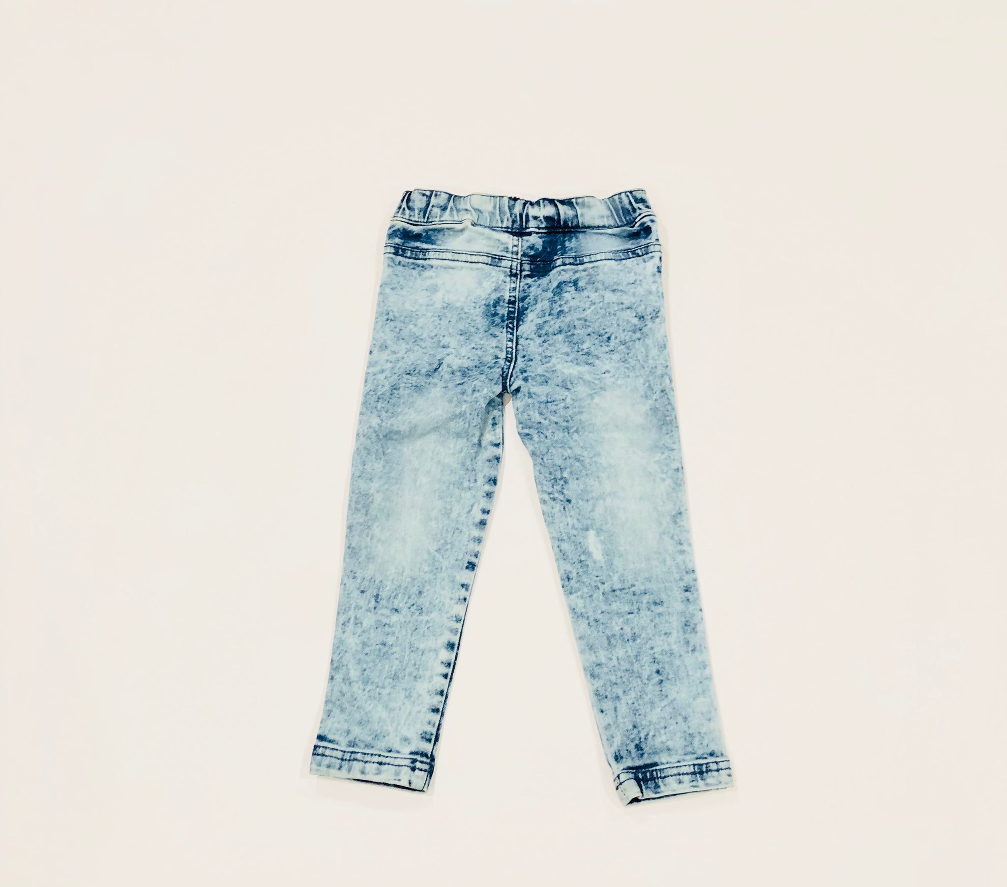 jean legging  |  washed out