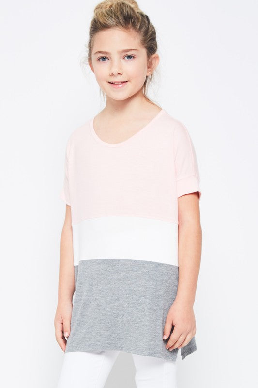 color block tunic  |   neapolitan