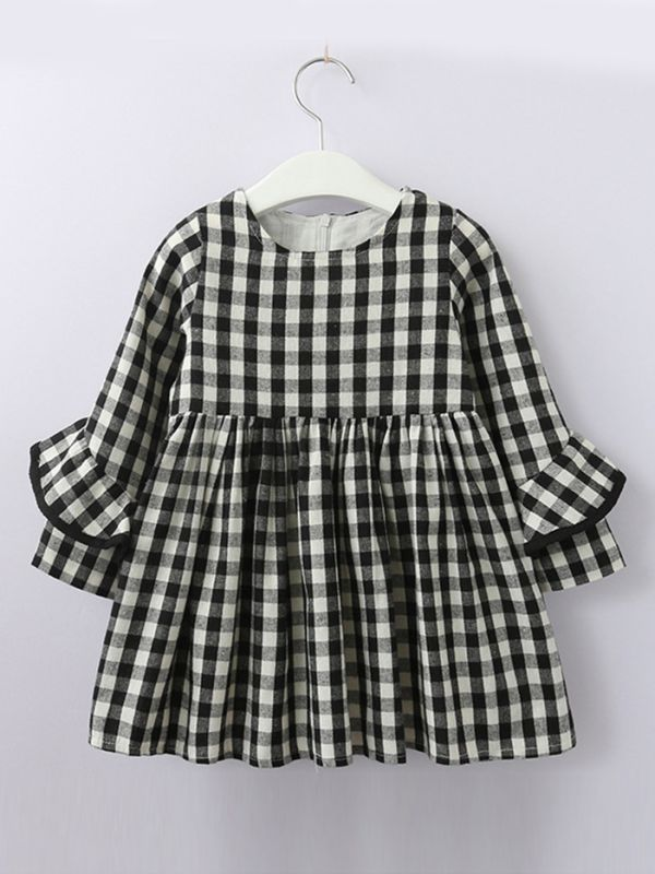 shift dress  |  gingham