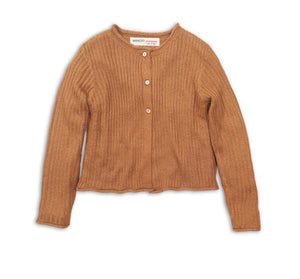 button up sweater  |  golden ginger