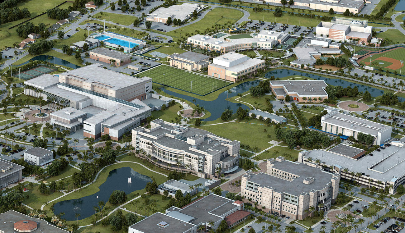 Interactive University Maps created in 3D by Pacificom