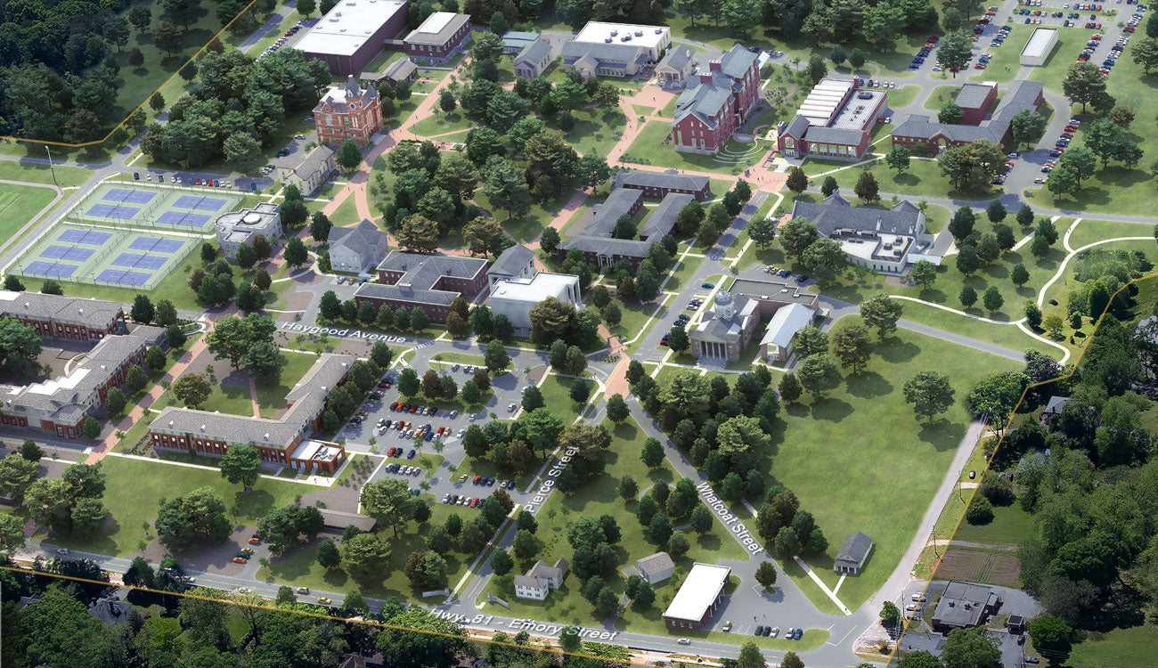 Emory University 3D Maps by Pacificom