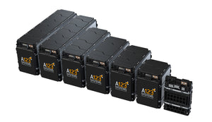 Various Sizes of Battery Packs