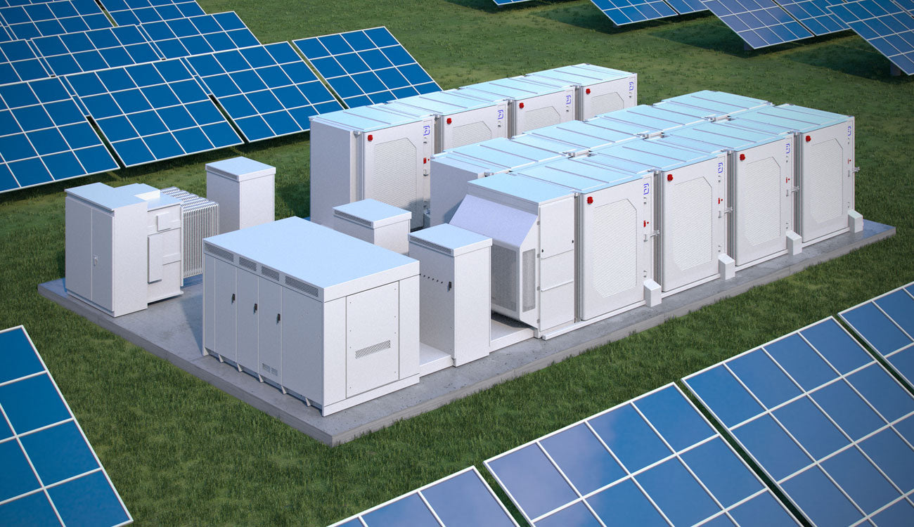 Solar Panel Renewable Energy Storage Units