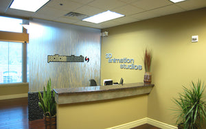 Pacificom Multimedia Front Reception Desk