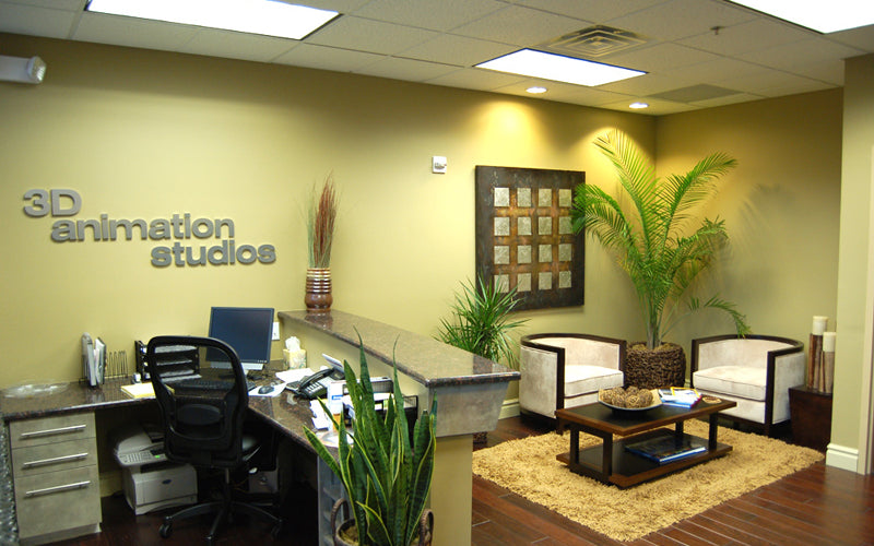 Animation Studio Waiting Room