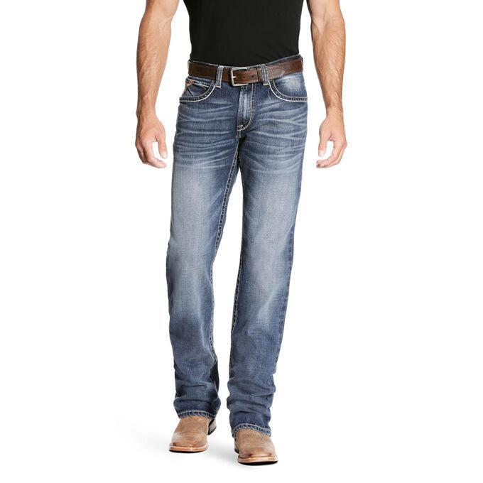 MEN'S M4 Low Rise Stretch Preston Boot Cut Jean 10023455