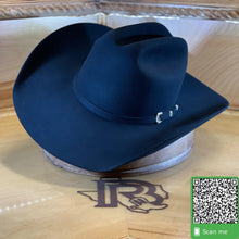 Load image into Gallery viewer, Stetson 30X | El Patron Black Felt Cowboy Hat