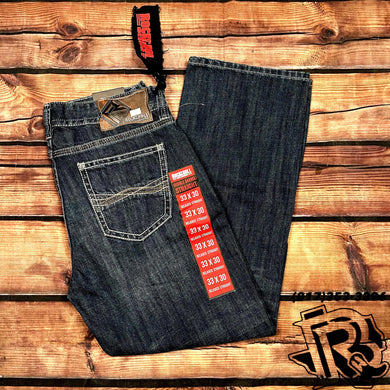 ROCK & ROLL JEANS | MENS JEANS DOUBLE BARREL BOOTCUT 19''