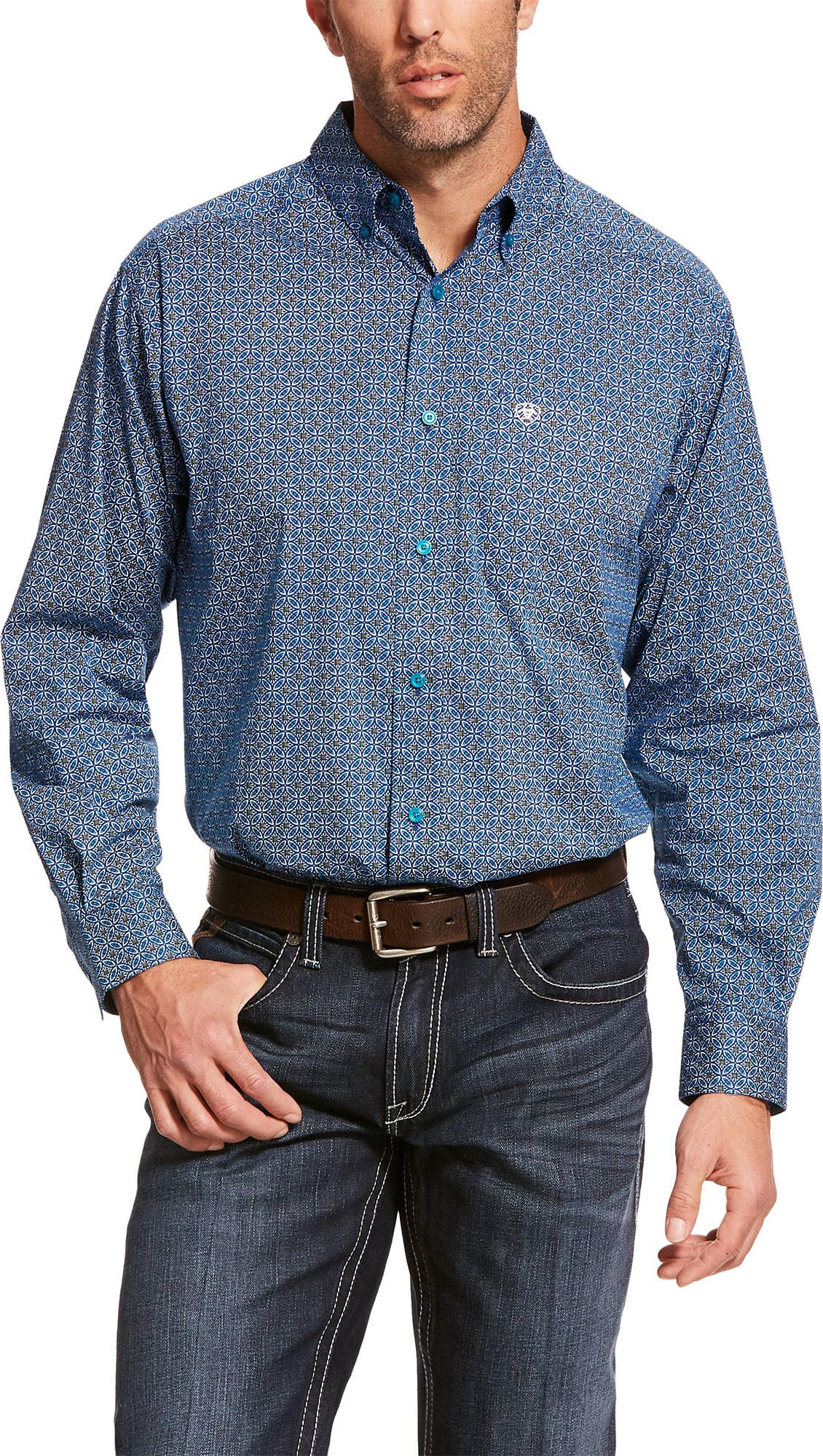 MENS ARIAT BALKMAN STR CLASSIC LONG SLEEVE SHIRT MULTI 10028809