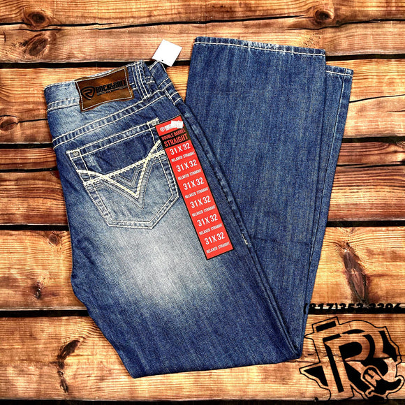 ROCK & ROLL DENIM | BOOTCUT MEN JEANS 19'' RED LABEL