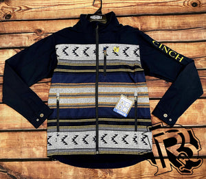 CINCH | MENS  JACKET NAVY VINTAGE