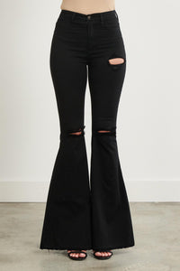Black Stone Bell Bottoms