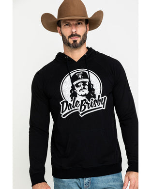 Dale Brisby Men's Logo Graphic Hooded Sweatshirt P8H2033