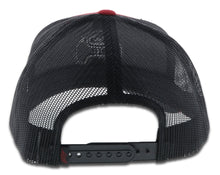 "Load image into Gallery viewer, 2009T-RDBK Desc: ""O Classic"" Hooey Red / Black 6-Panel Trucker with Black Logo - OSFA"