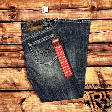 ROCK & ROLL | DOUBLE BARREL RED LABEL BOOTCUT 19''