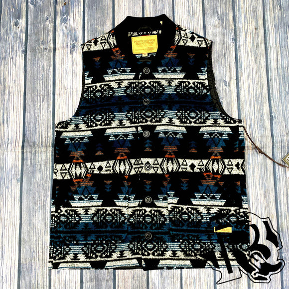 Powder River Outfitters Idaho Aztec Men Vest