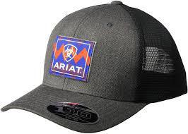 ARIAT GREY BLACK CHEVRON PATCH A300001706