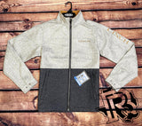 CINCH | MEN  JACKET LIGHT GREY / DARK GREY