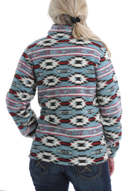 WOMENS PRINTED FLEECE (MAK9821002)