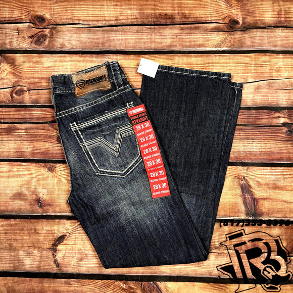 ROCK & ROLL DENIM |  DOUBLE BARREL RELAXED STRAIGHT RED LABEL