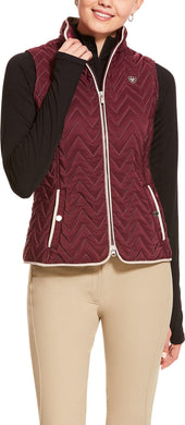 WOMENS ASHLEY INS VEST GRAPEWINE 10028091