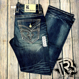 "ROCK REVIVAL ""RAITH B204"" BOOTCUT"