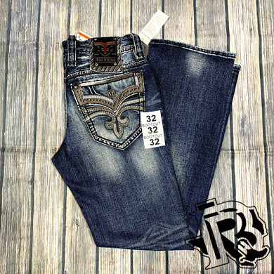 ROCK REVIVAL BOOT CUT