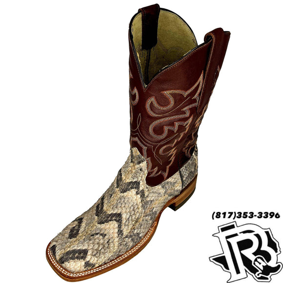 CANEBRAKE SNAKE BOOTS | MENS SQUARE TOE BOOTS