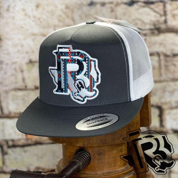 BR CAP : TEXAS VINTAGE EDITION GREY / WHITE WHITE PATCH