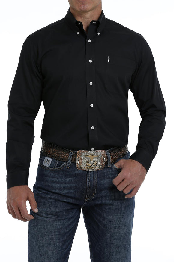 MEN SOLID CINCH SHIRT (MTW1347019)