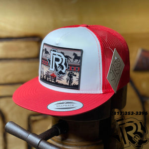 BR CAP | VINTAGE BROWN RED/WHITE/RED