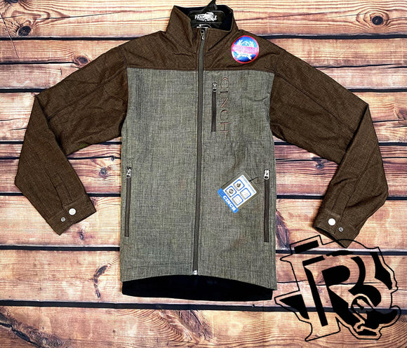 CINCH | MEN JACKET BROWN / GREY
