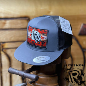 BR CAP Vintage RED Edition : Charcoal