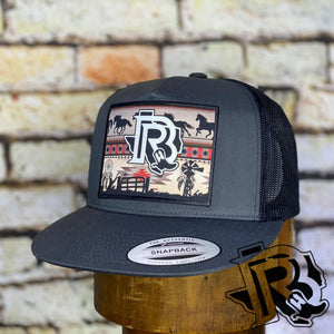 BR CAP Vintage Edition : CHARCOAL/CHARCOAL